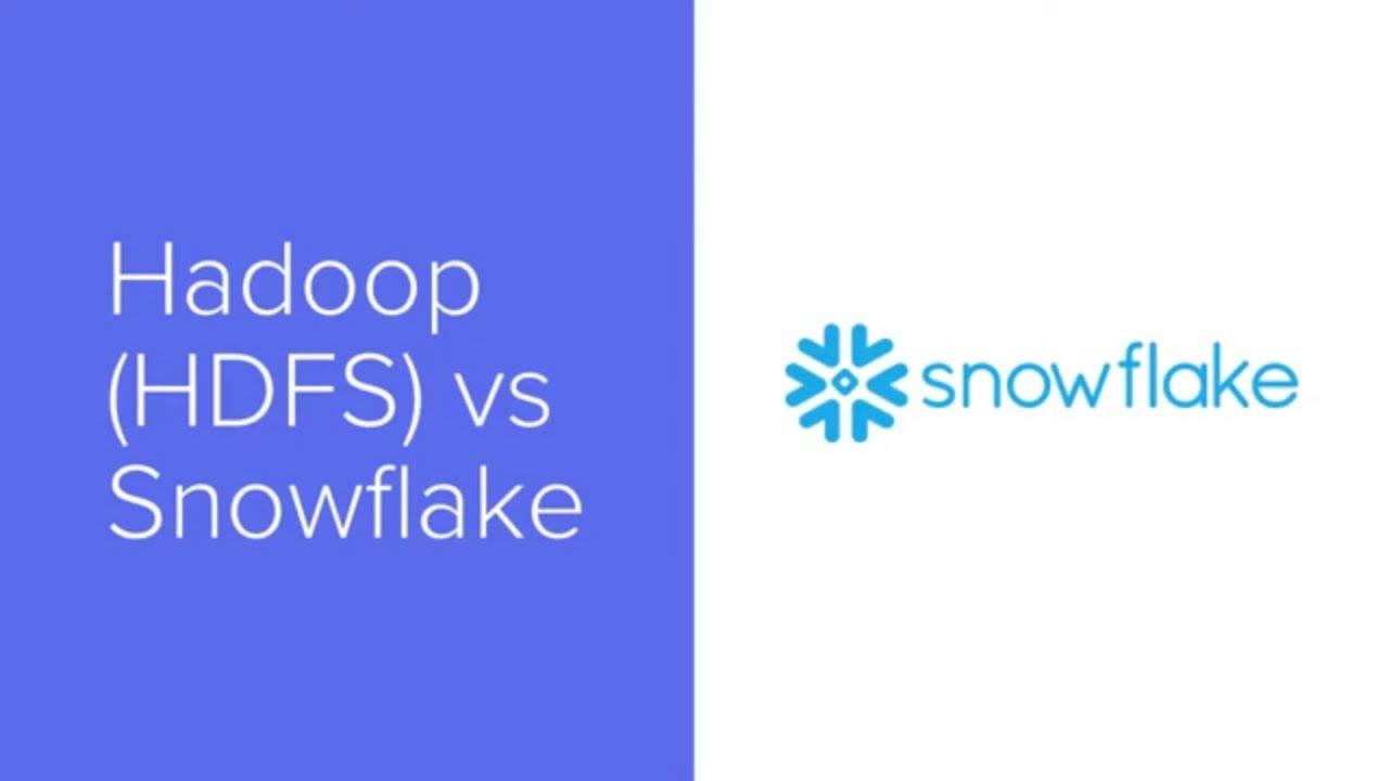 Snowflake vs Hadoop vs Oracle Diferencias