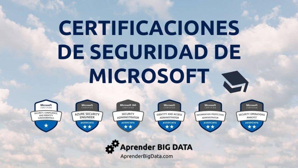 Certificaciones de seguridad de microsoft