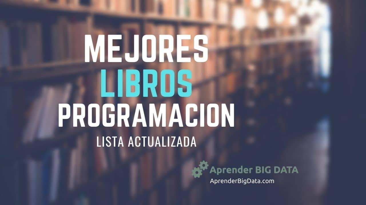 Mejores libros de programación y desarrollo de software